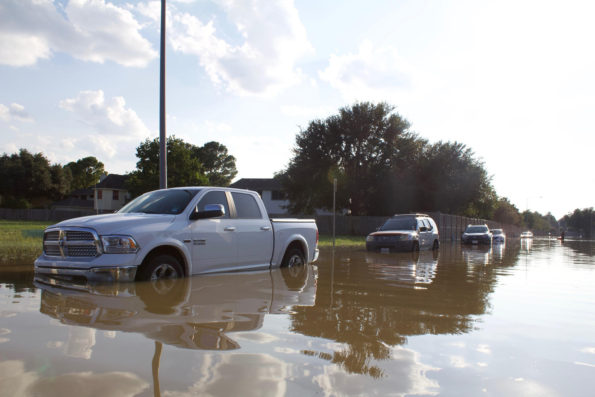 Stay safe on flooded roads and avoid auto insurance claims - see Ewing, Hines & Associates, Kensington, MD